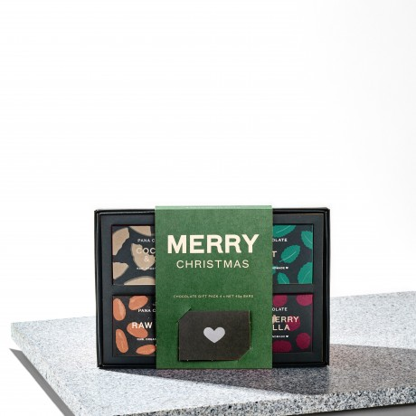 Merry Christmas Raw Chocolate Gift Box