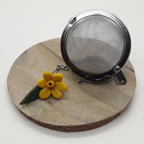 Daffodil Mesh ball tea infuser