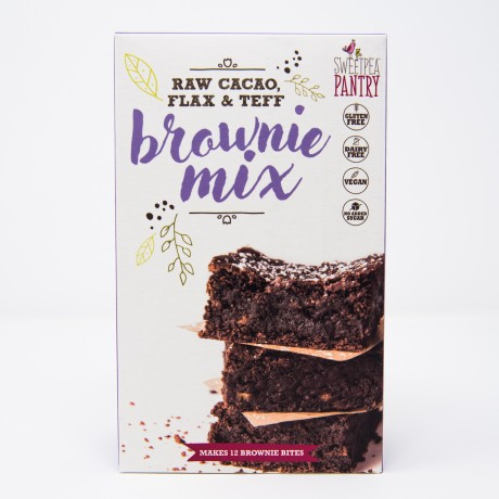 Raw Cacao, Flax & Teff Brownie Mix
