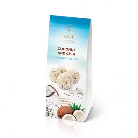 Vegan Truffles Coconut & Chia