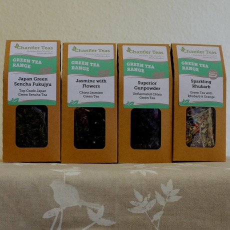 Green Tea Loose Leaf Tea Collection
