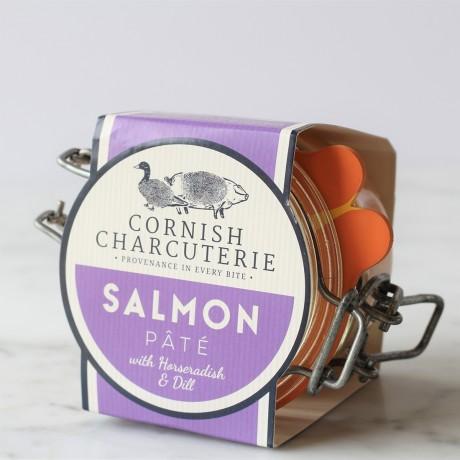 Salmon Pâté with Horseradish and Dill