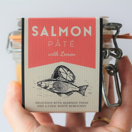 Salmon Pâté with Lemon