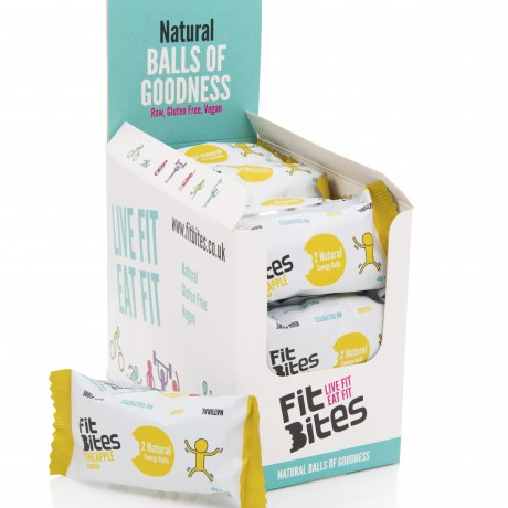 Pineapple & Baobab Energy Balls (Box Of 16)