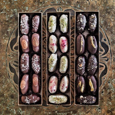 Chocolate Date Gift Box Trio Set