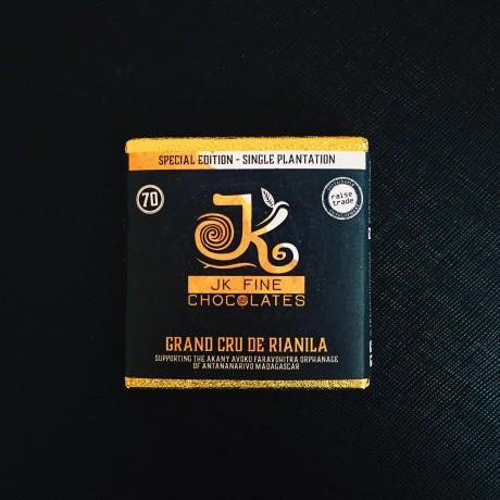 Rare Madagascan 70% Dark Chocolate - Grand Cru de Rianila x 3