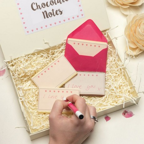 Write Your Own Chocolate Love Notes