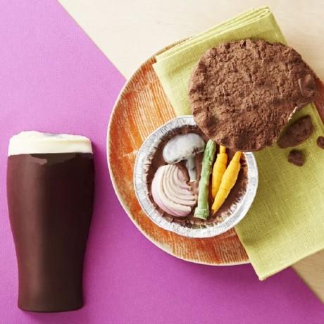 Chocolate Pie And Pint