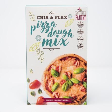 Gluten-Free Chia & Flax Pizza Dough Mix