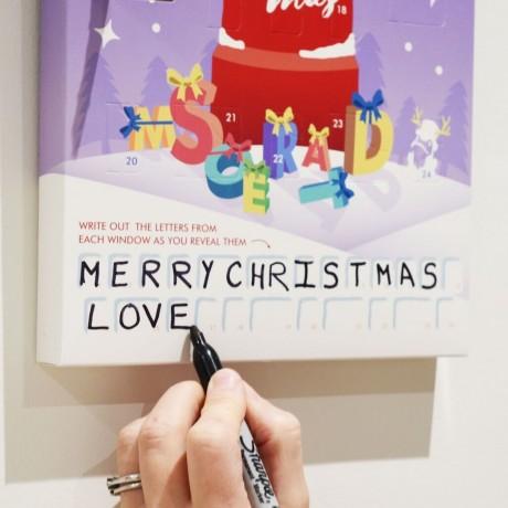 Personalised Advent Calendar