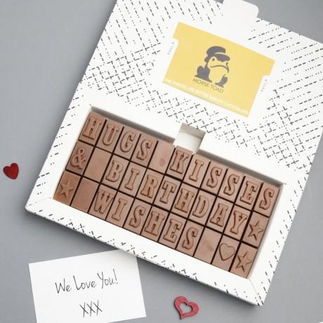 70th Birthday Chocolates