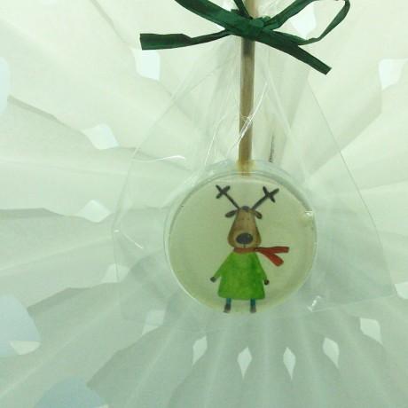 Reindeer in the Green Jumper