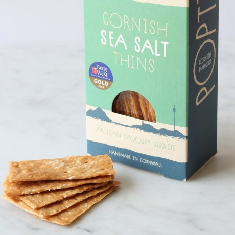 Cornish Sea Salt Savoury Biscuit Thins