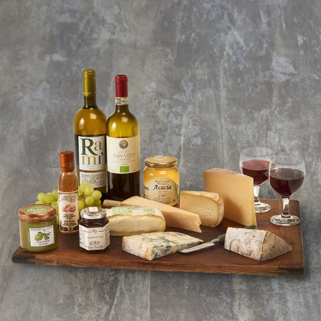 Cheese and Wine Party Hamper