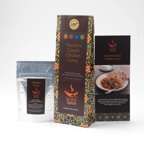 Yasmin's Classic Chicken Curry Recipe Kit