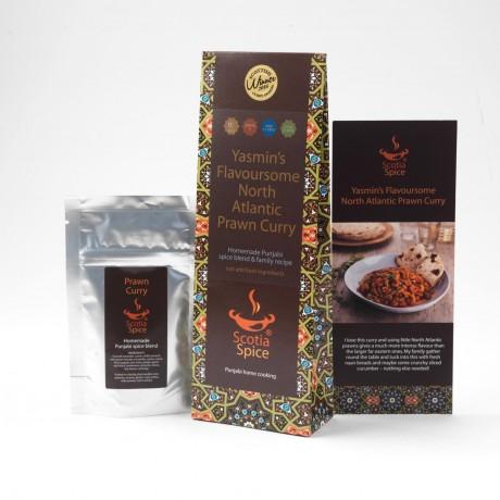Yasmin's Flavoursome North Atlantic Prawn Curry Recipe Kit