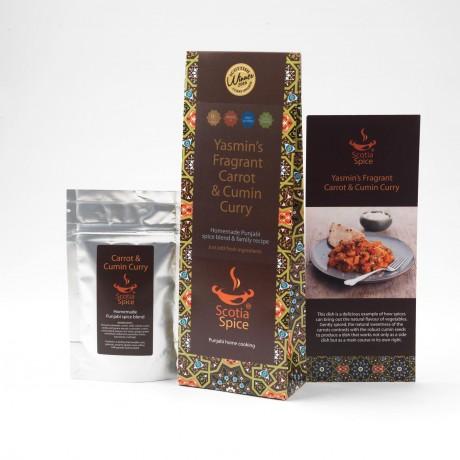 Yasmin's Fragrant Carrot & Cumin Curry Recipe Kit