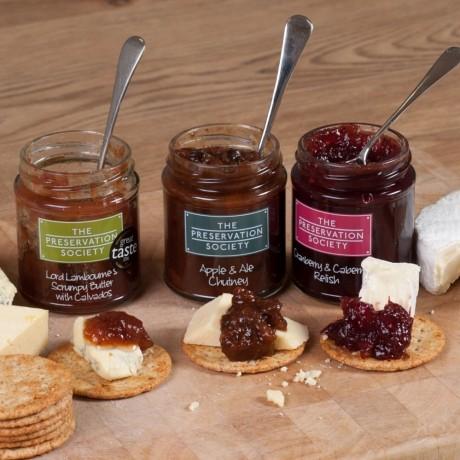 Love Cheese Chutney & Relish Trio Gift Box