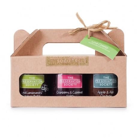 Chutneys for Cheese Trio Gift Box