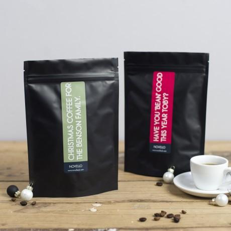 Personalised Christmas Coffee Gift