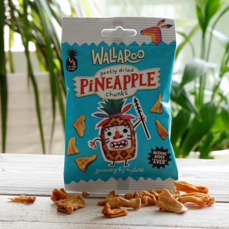 Vegan Gluten Free Dried Pineapple Chunks (10-Pack)