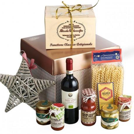 Veggie Christmas Lunch with Organic Wine