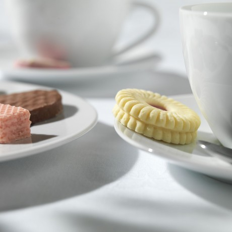 Biscuit-Shaped Chocolates