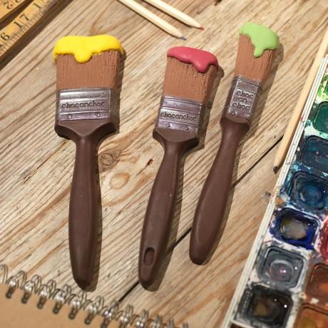 Chocolate Paintbrushes