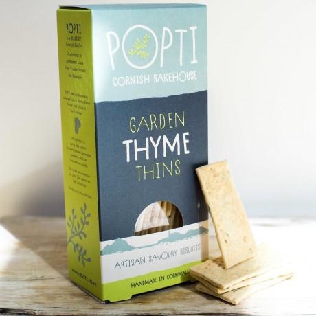Garden Thyme Savoury Biscuit Thins