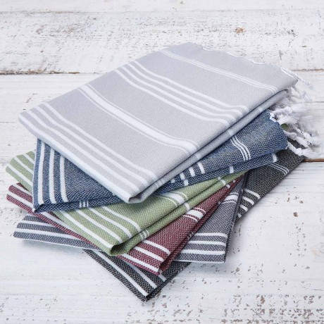 Large Tea Towel / Hand Towel - Sage Green