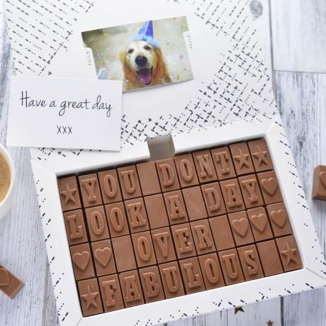 40th birthday Chocolates