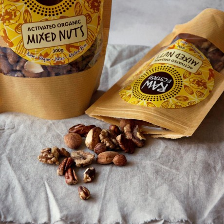 Activated Mixed Nuts - Plain