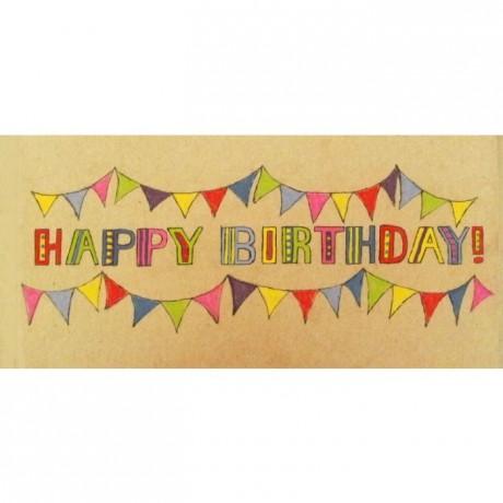 Happy Birthday Fudge Gift Bar