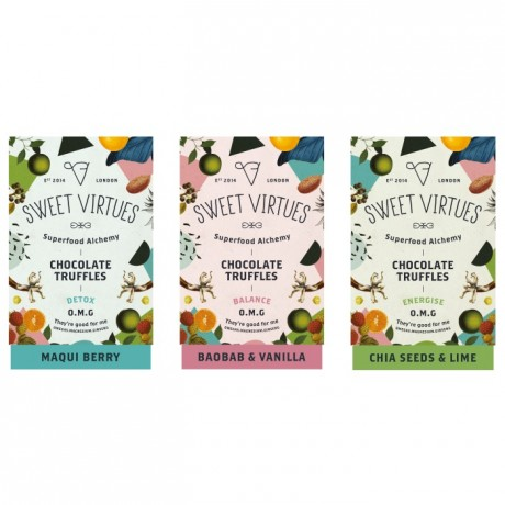 Sweet Virtues Truffle Range