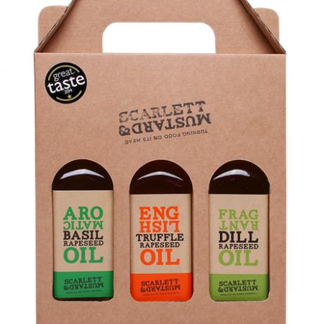 Scarlett & Mustard Oil Gift Pack