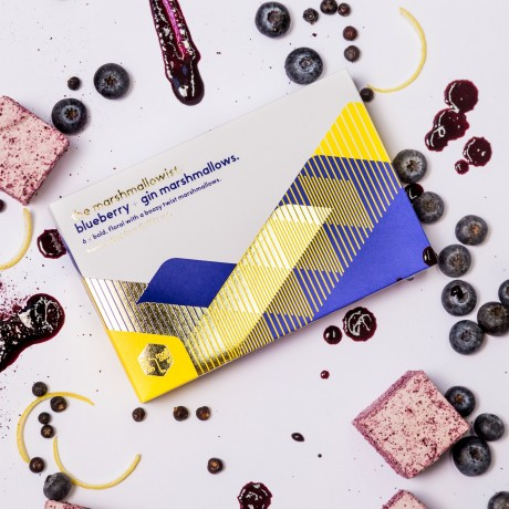 Blueberry & Gin Gourmet Marshmallows