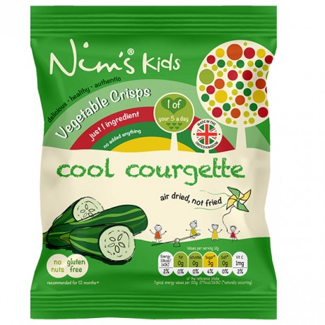 Kids Air Dried Courgette Crisps