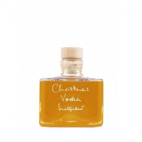 Christmas Vodka Liqueur (Personalisation & Choice of Bottle Shape) - 200ml