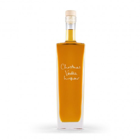 Christmas Vodka Liqueur (Personalisation & Choice of Bottle Shape) - 500ml