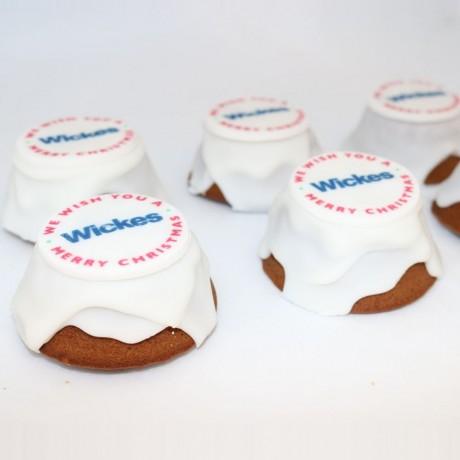 Bespoke Branded Christmas Cakes