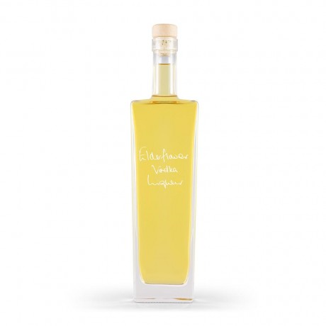 Elderflower Vodka Liqueur (Personalisation & Choice of Bottle Shape)