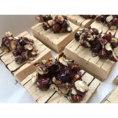 Patisserie Nutty Peanut Butter Cheesecake Slice