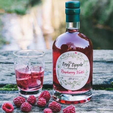 Raspberry Vodka Liqueur