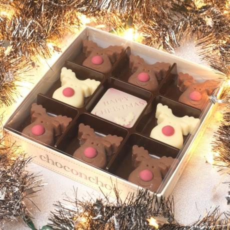 Christmas Chocolate Reindeers