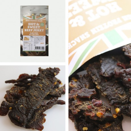 Rare Breed Hot & Sweet Beef Jerky 30-Pack