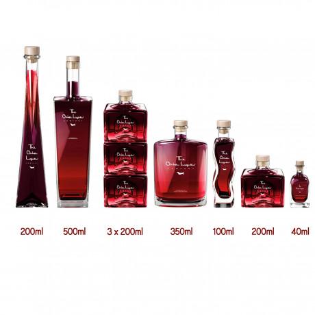 Bramble Gin Liqueur (Personalisation & Choice of Bottle Shape)