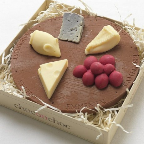Chocolate Cheese Board