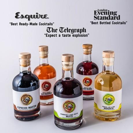 Blackberry & Tamarind Spiced Rum Spritz