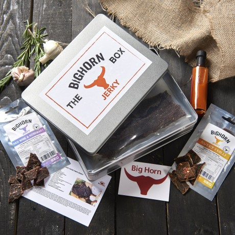 BigHorn Jerky Gift Box