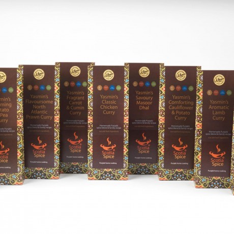 Yasmin's Authentic Curry Spice Recipe Kit Range